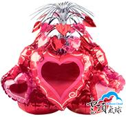 豪華桌飾氣球(紅心)<未充氣>