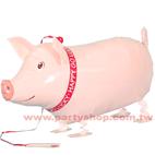 散步粉紅豬Pig
