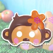 花朵猴-面具[T6]