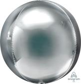 16吋 銀 鏡面立體正圓[T6]