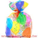 彩色氣球禮物袋/20入{T6]