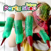 綠手指套/10入[T12]