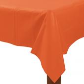 橘-塑膠長桌巾{P3}