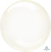 20吋 透明染色球-黃[T5]