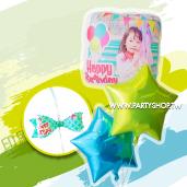 印刷相片氣球-生日