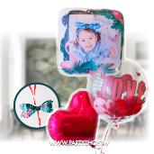 印刷相片氣球-火鶴