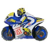 30吋 競速藍摩托車[T5]