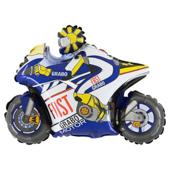 14吋 藍摩托車