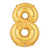 """7"""" 小亮金數字 8 [T5]"""