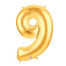 """7"""" 小亮金數字 9 [T5]"""