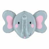 34吋 立體大象臉-P[T3]