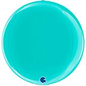 15吋 蒂芬妮藍 立體正圓[T5]