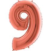 40吋 玫瑰金數字9<無法宅配>