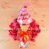 小小粉生日冰淇淋棉糖組_34582<客製商品需先付款>