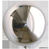 10吋 立體正圓-銀[T5]