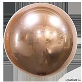 24吋 立體正圓-玫瑰金[T5]
