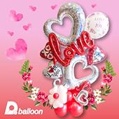拼圖氣球_雙愛心愛情款