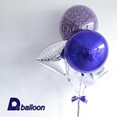 紫孔雀球束