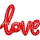 紅 連體LOVE空氣[T10]
