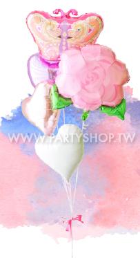 蝴蝶和他的玫瑰<可宅配>