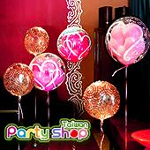 低調奢華花朵泡泡氣球組/6顆