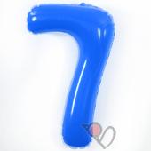 14吋 7-耐久數字-藍[T3]