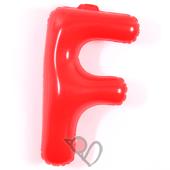 14吋 F-耐久字母-紅[T3]