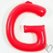 14吋 G-耐久字母-紅[T3]
