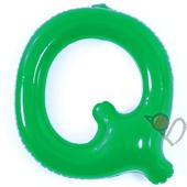 14吋 Q-耐久字母-綠[T3]