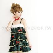 天使聖誕樹裙