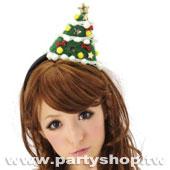 繽紛耶誕樹髮圈[T4]