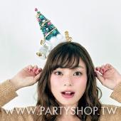 甜心聖誕樹髮箍[T4]