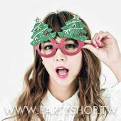 聖誕樹造型眼鏡[T4]