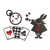 閃亮 魔法兔 刺青紋身貼[T4]