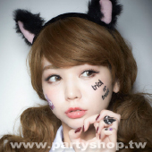 閃耀貓咪 紋身貼[T4]