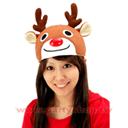 大眼微笑麋鹿帽[T4]