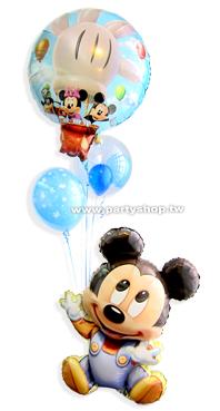 熱氣球米奇娃