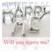 Marry Me 字母球組