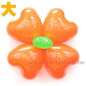 繽紛糖果球花-橘色[大]