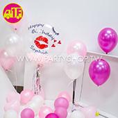 氣球驚喜箱-生日紅唇
