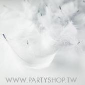 短羽毛-灰/100根[T4]