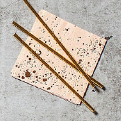 小燙金點粉色紙巾/20入[T8]