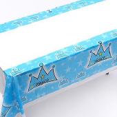 淺藍皇冠桌布[T5]
