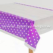 紫-點點桌布[T4]