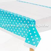 淺藍-點點桌布[T4]
