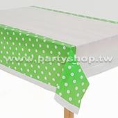 果綠-點點桌布[T4]