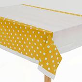 金-點點桌布[T4]