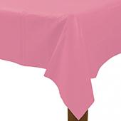 粉塑膠長桌巾137*274[T3]