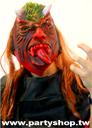 紅長舌怪獸鬼面具[T5]