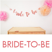 玫瑰金BRIDE-TO-BE BN[T8]